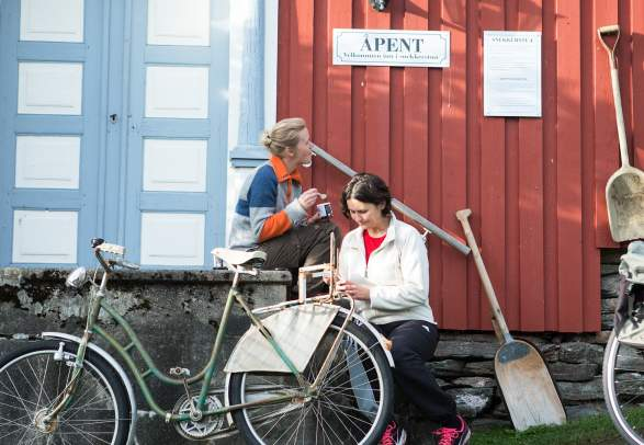 Package: Cycling from Steinkjer to Stiklestad