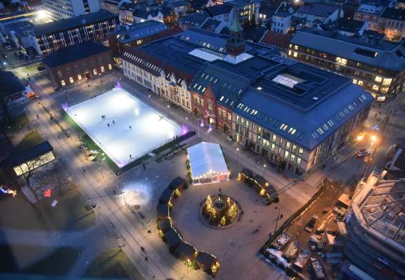 Ice skating rink in Kristiansand