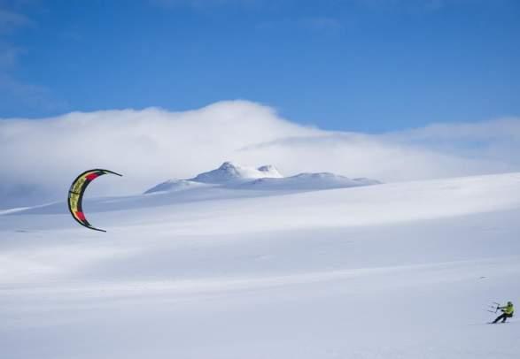 Kite classes at Filefjell