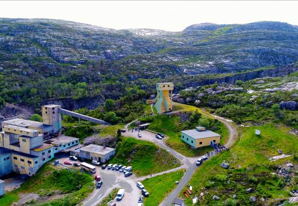 Knaben Bergwerksmuseum und Besuchsbergwerk