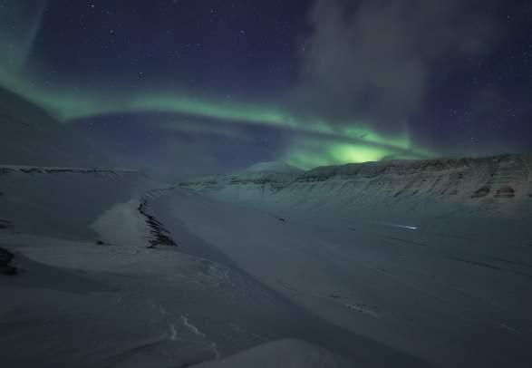 Green Sky - Basecamp Spitsbergen