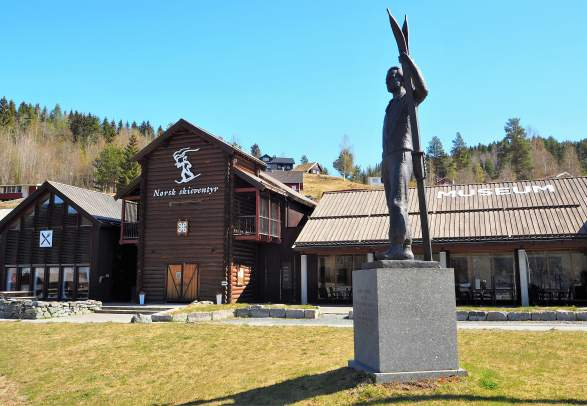 Noors skimuseum in Morgedal