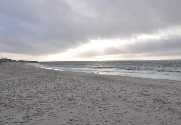 La playa de Orre