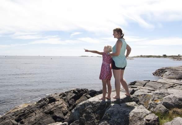 Explore Grimstad's skerries