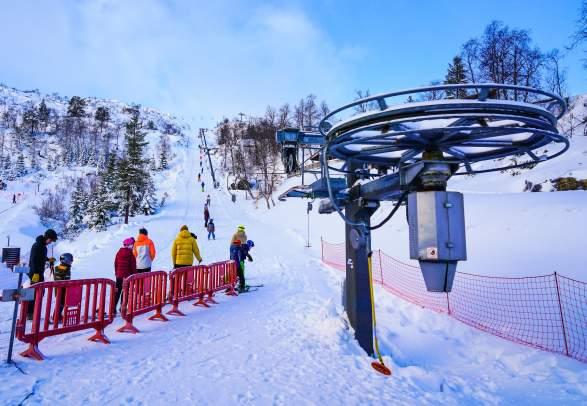 Sirdal Skisenter Tjørhomfjellet og Ålsheia