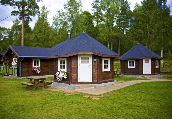 Accommodation at TrollAktiv rafting centre