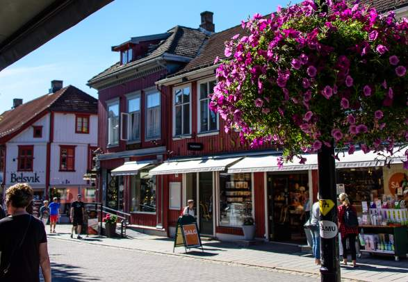 Lillehammer Town centre