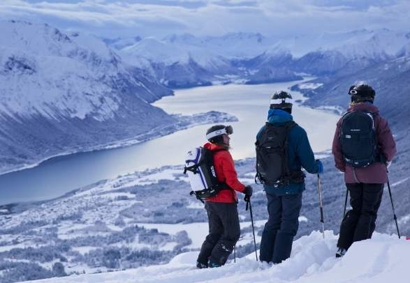 3 days ski touring in Romsdal