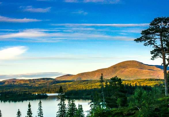 Blåfjella-Skjækerfjella Låarte-Skæhkere nasjonalpark