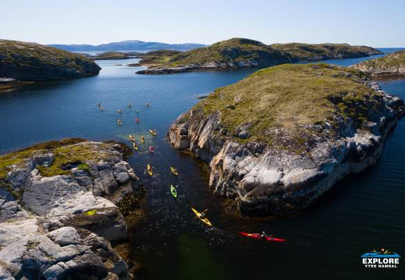 Kayaking in the Namdal archipelago - Explore Ytre Namdal