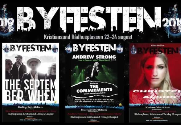 Byfesten - music festival in Kristiansund