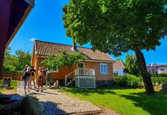 Edvard Munch´s Haus in Åsgårdstrand