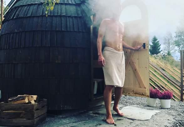 Sauna - Iglucrafts Iglusauna ved Konglehytta