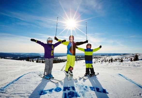 Storefjell skiën en rodelen