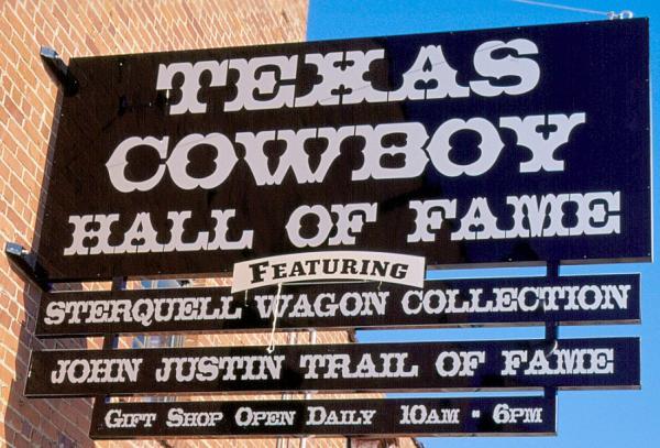Texas Cowboy Hall of Fame