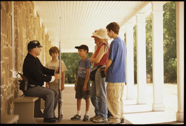Fort Larned National Historic Site Kids