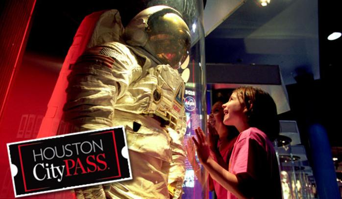 Exhibits at the Space Center Houston
