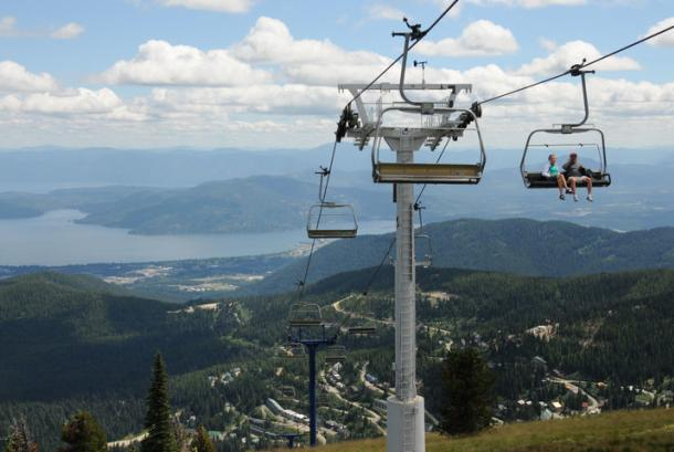 Summer Scenic Chairlift Rides