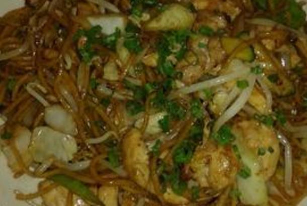 Suki Yaki Chicken and Sprouts