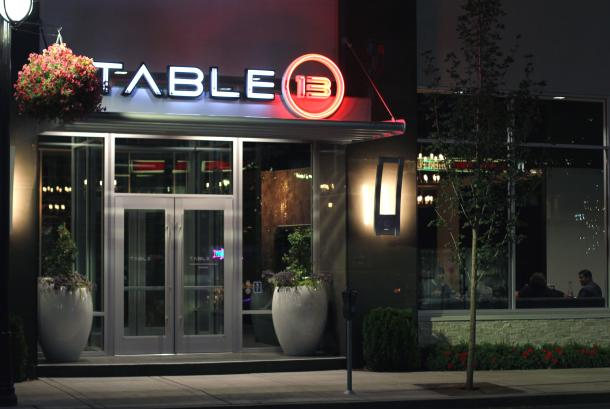 Welcome to Table 13