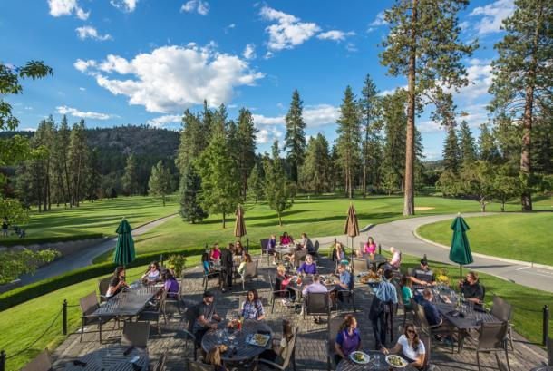 Kalispel Golf and Country Club Patio