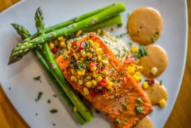 Pepper Salmon