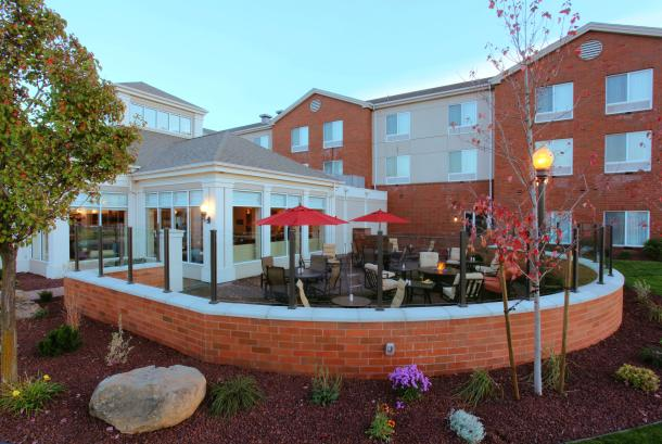 Unwind and dine on our patio!