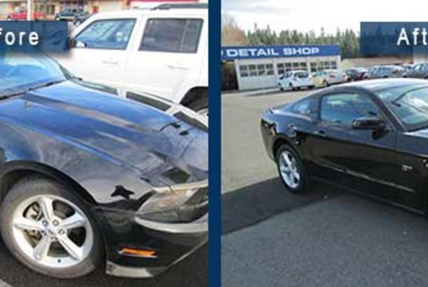 Before_After Mustang