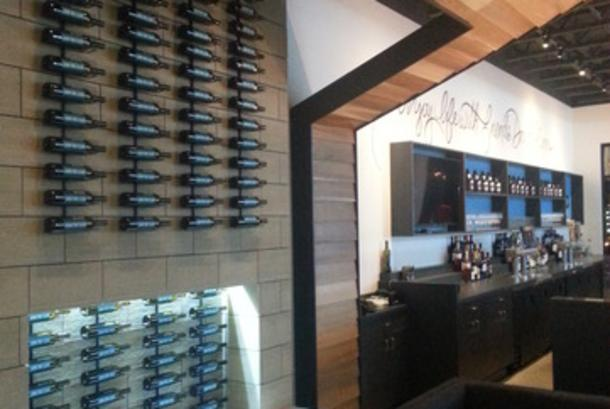 Nectar Wine and Beer Wine Wall