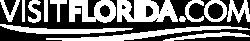 Visit Florida Logo - White