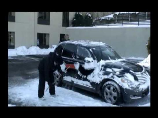 Snow Raking