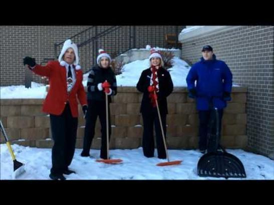 Snow Raking Theme Song!