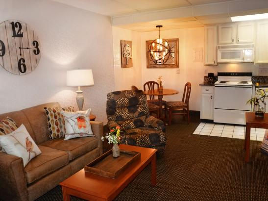 Extended Stay Suite - Living Room