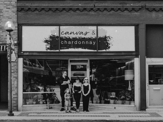 Canvas & Chardonnay | credit Leah Bee