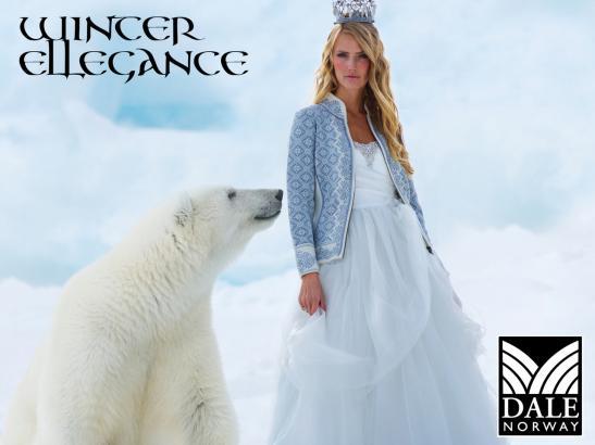 Dale Christiania Cardigan with Polar Bear