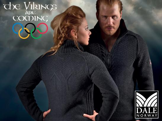 Dale Viking Olympic Sweater Image
