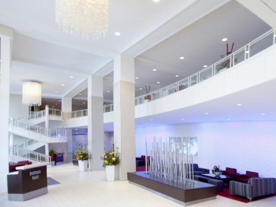 Lobby of the Doubletree by Hilton/Mayo Clinic Area