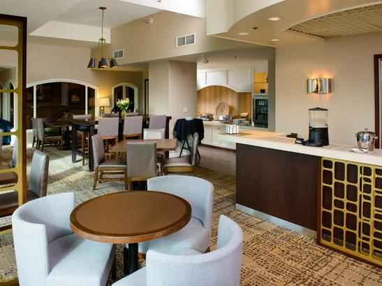 Concierge services, breakfast and hors d'oeuvres daily in the Executive Lounge