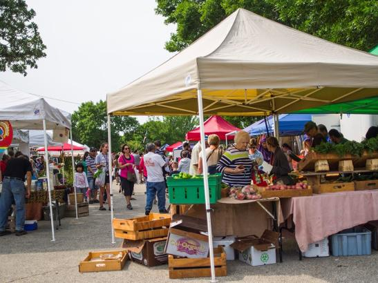 A busy day at the market   credit choochoo-ca-chew