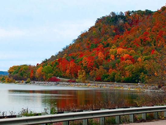 Great River Road in Autumn