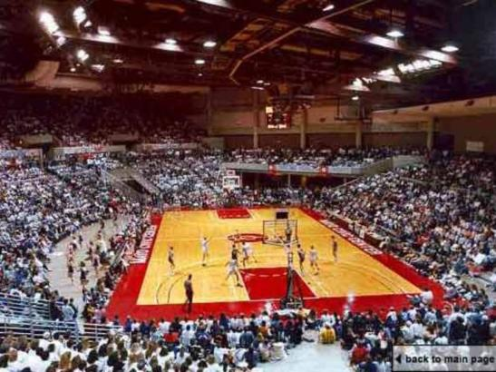 Arena Set for Basketball