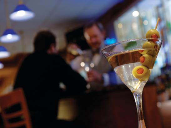 Over 60 different Martini's to choose from | credit olivejuicestudios.com
