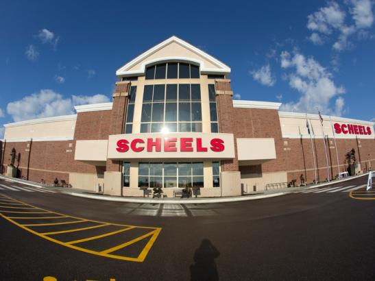 SCHEELS Exterior at Apache Mall