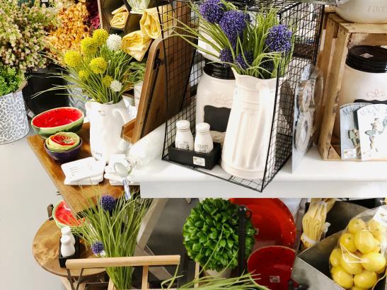 Spring + seasonal decor > credit AB-Photography.us.