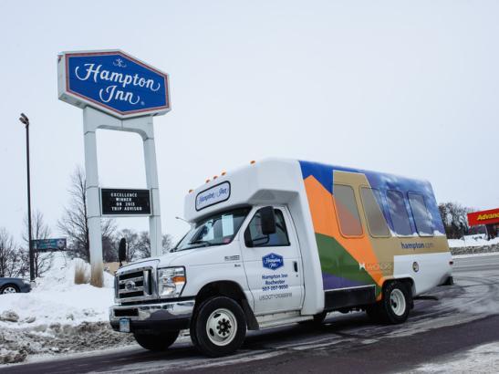 Hampton Inn Complimentary Shuttle
