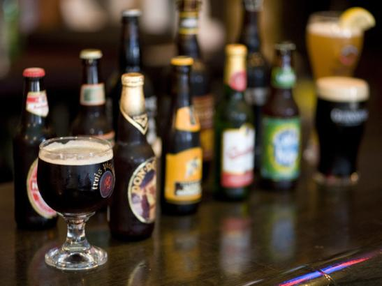 Serving over 400 beers | credit olivejuicestudios.com