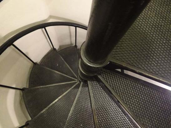 Stairs in the Carillon