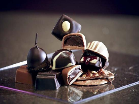 Handcrafted bon-bons and other confections