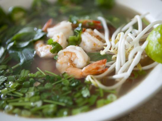 A shrimp soup | credit olivejuicestudios.com