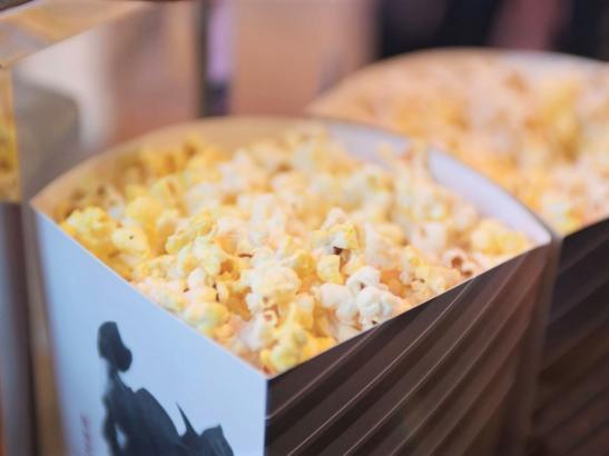 Popcorn at CMX Cinema